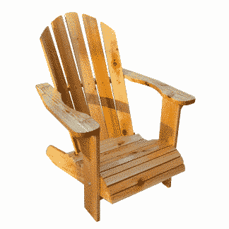 cedar chastain adirondack chair