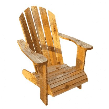 cedar chastain adirondack chair