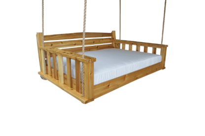 The Buckhead Bed Swing With Cupholders