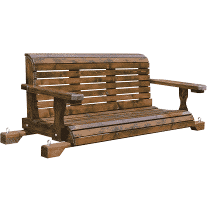 brown wood swing for sale