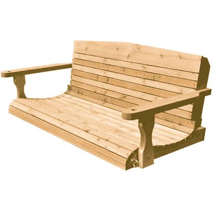 atlanta porch swing for sale