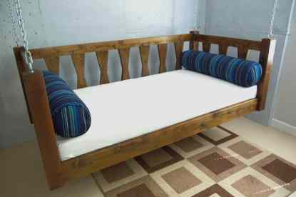 Savannah Daybed Swing Bed With Bolster Pillows