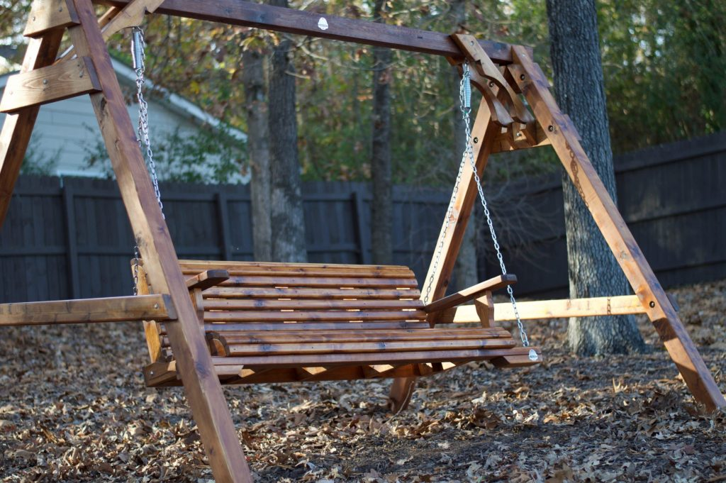 Canton Porch Swing Outdoor Swing Stand