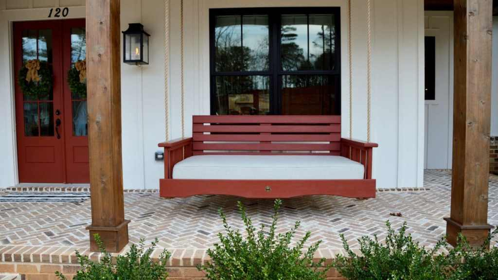 The Roswell Porch Bed Swing