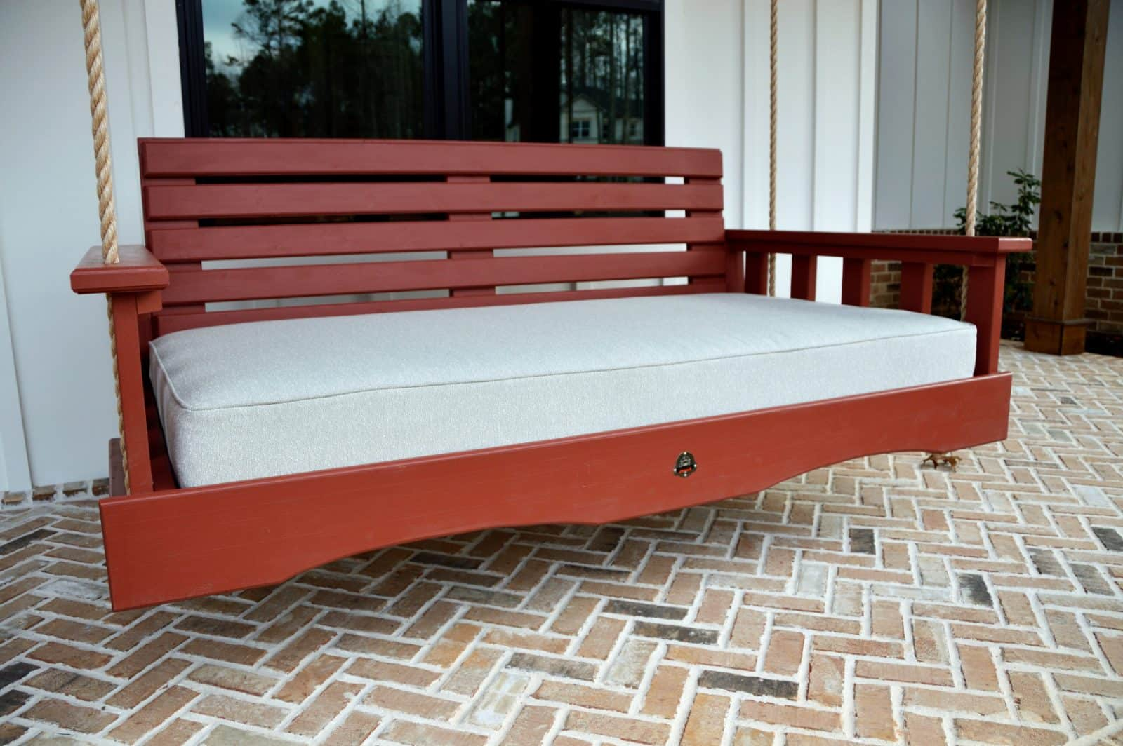 The Roswell Outdoor Porch Swing Bed